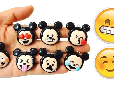 TRANSFORMA MICKEY EN EMOJIS!? Manualidades Kawaii