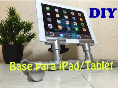 Base Economica DIY para iPad. Tablet || Doble Proposito Loop