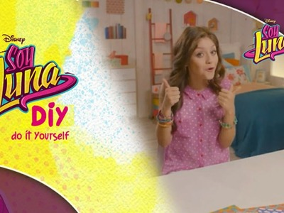 Disney Channel España | Soy Luna - DIY Fashion & Beauty - Collar Multicolor (Karol Sevilla)