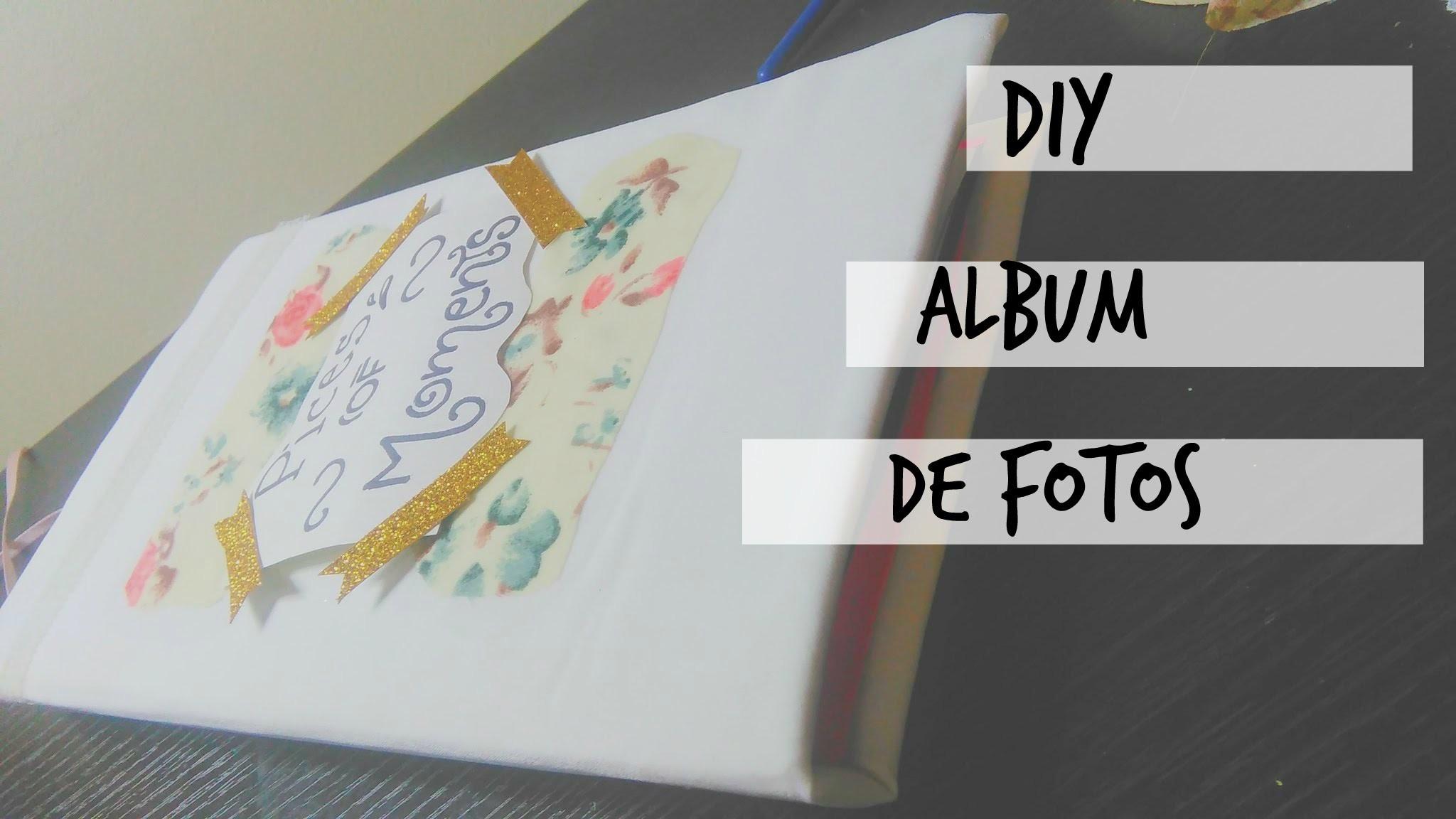 • DIY álbum de Fotos muy fácil ☾. c l a r a