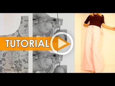 DIY Costura: Cómo hacer pantalón moda