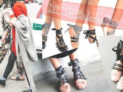 DIY-INSPIRACIÓN MIU MIU BALLERINAS | Alys in Black