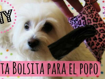 DIY Porta bolsas para el popo de tu perro, coton de tulear I Lorentix