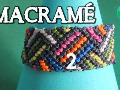 Friendship Bracelet 02 | DIY | Parte II de 3