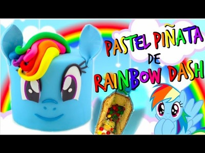 PASTEL PIÑATA DE RAINBOW DASH
