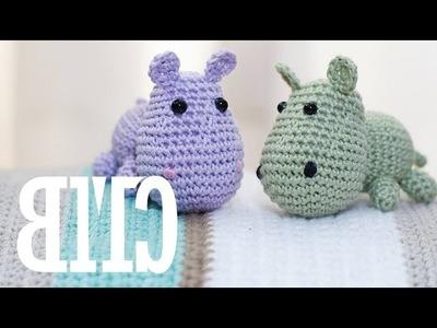 Amigurumi | Como hacer un Hipopotamo en Crochet | Bibiana Mejia Crochet 2016
