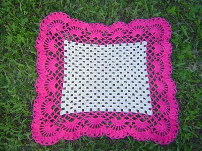 Carpeta cuadrada a crochet paso a paso parte 2.2