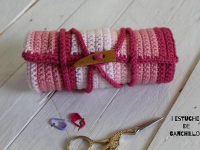 Estuche para tus Agujas de Ganchillo I  Crochet case I ENGLISH SUB! cucaditasdesaluta