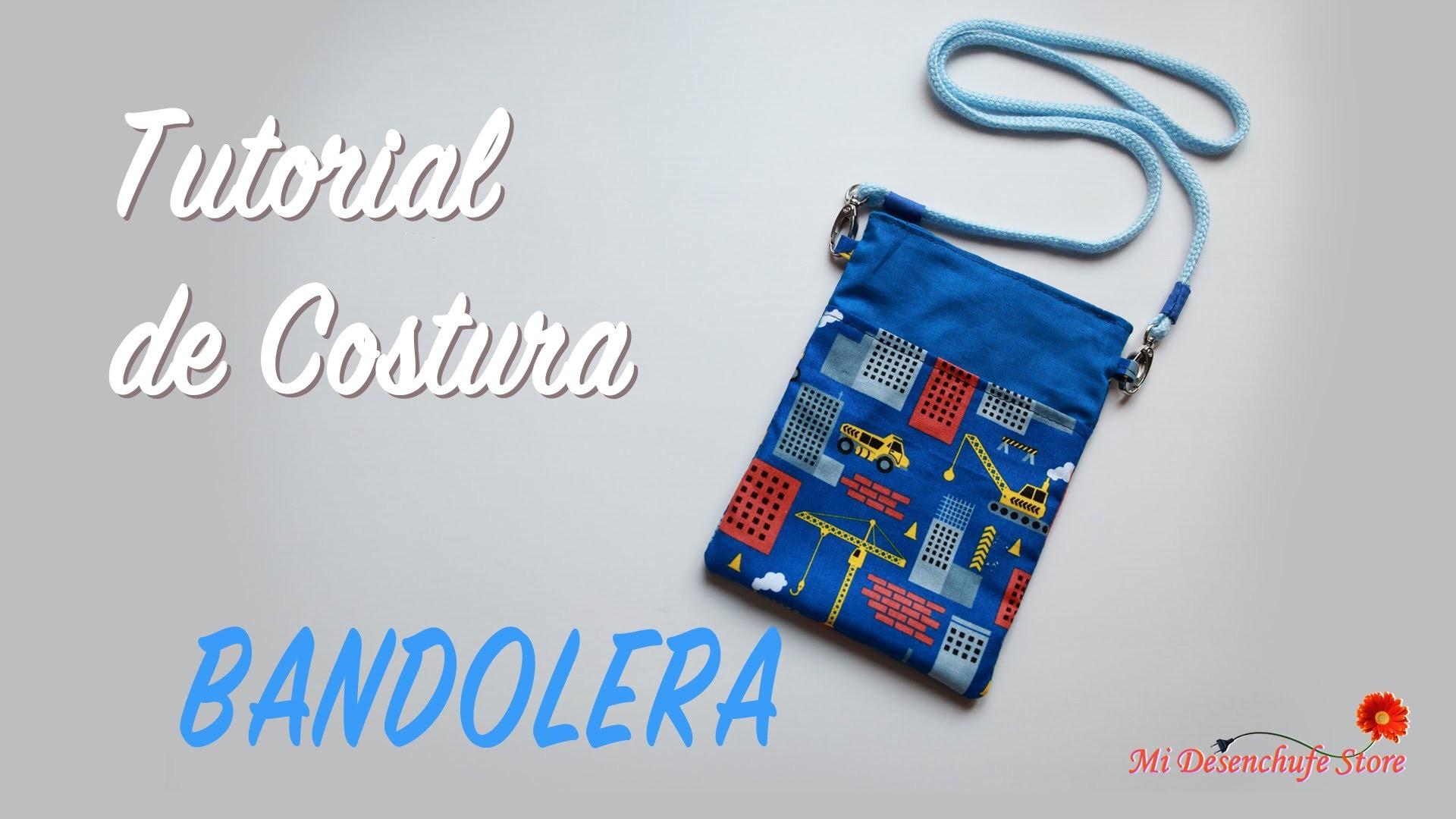 Tutorial #44 - Como hacer una Bolsita Bandolera - How to make a bag