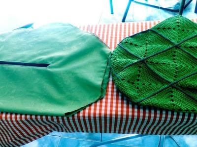 Vídeo de cómo cortar y coser el forro de tu bolso y colocación de un bolsillo (parte 1)
