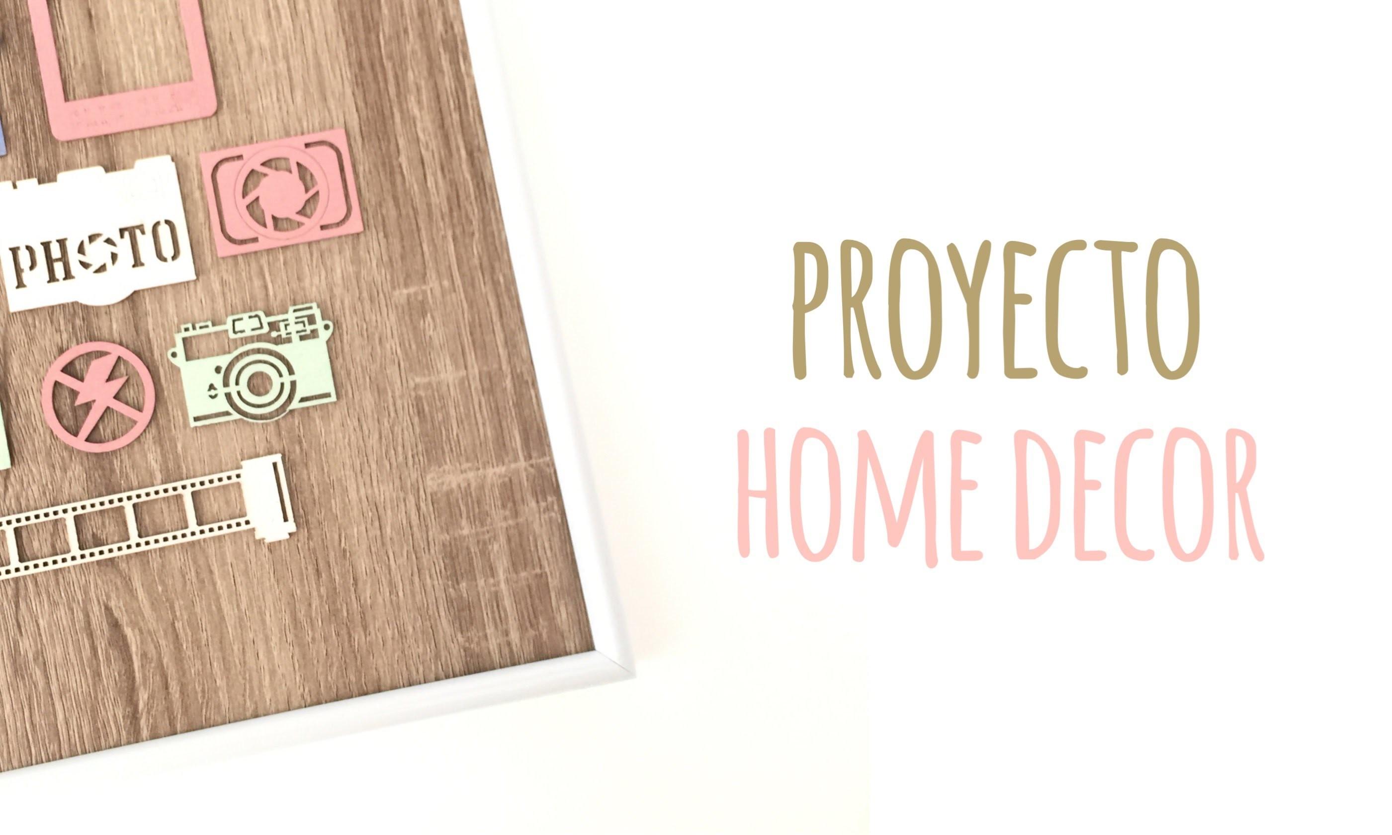 C mo decorar un marco de fotos tutorial diy - Como decorar un marco de fotos ...