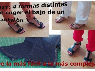 DIY: 4 formas de coger el DOBLADILLO a un pantalón