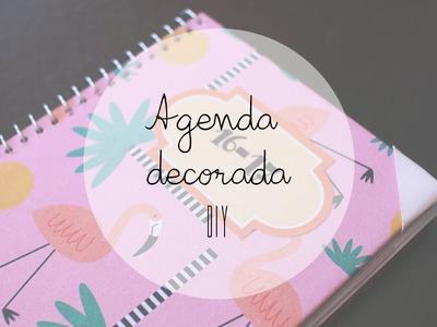 DIY: Agenda decorada   YasminaDiego