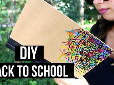 DIY: ¡CUSTOMIZA TUS LIBRETAS! | Mandala, Mármol, Sandía.  | Sarah Diamond