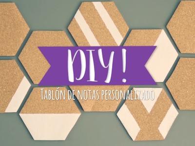 DIY Westwing | Haz un tablón para notas de estilo retro