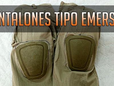 How to: Pantalones Emerson Caseros! | DIY Airsoft | Tactical Shirts Airsoft España