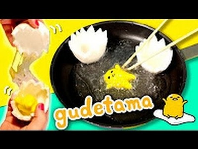 Huevo GUDETAMA de SLIME * DIY Gudetama Egg Slime español
