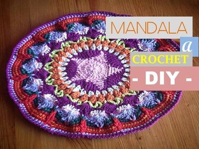 MANDALA a crochet: aprende a tejerlo con mi DIY (zurdo)