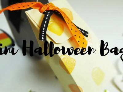 Paso a Paso Tutorial Halloween Mini Bolsitas +  [ DIY. Decoracion de Papel.!!! ]