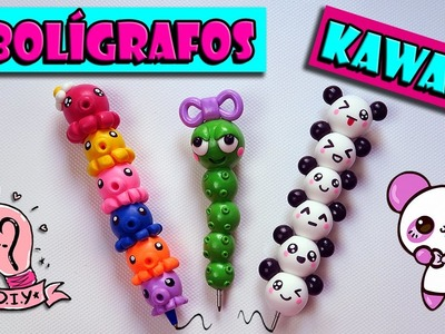♥ Tutorial: Bolígrafos Kawaii DIY || Back to School ♥