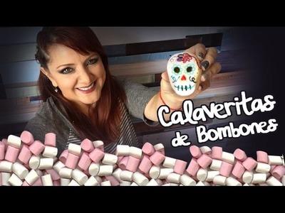 Calaveritas de Bombón Comestibles :: Día de Muesrtos DIY