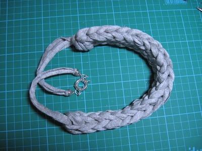 #DIY #-collar de trapillo