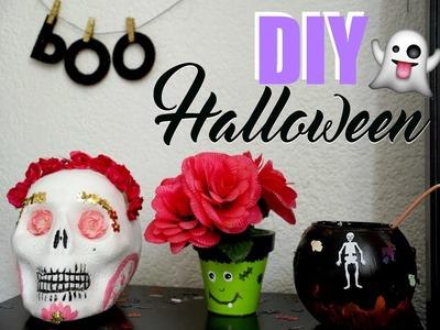 DIY Decoraciones para Halloween. Día de Muertos ♡