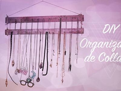 ▶ DIY Organizador de Collares