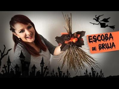 Escoba de Bruja Halloween DIY :: Chuladas Creativas