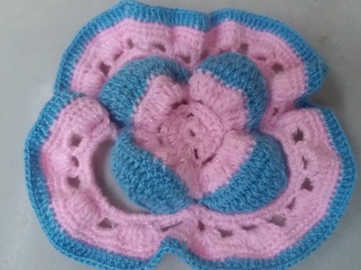 Iniciando en crochet parte 3 (tapete decorativo parte 1)