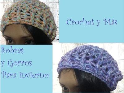 Proyecto 2 - Sobras y Gorros para invierno.Crochet