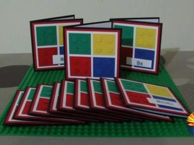 32 INVITACIONES DIY  para FIESTA de LEGOS  HERMOSAS !!!!