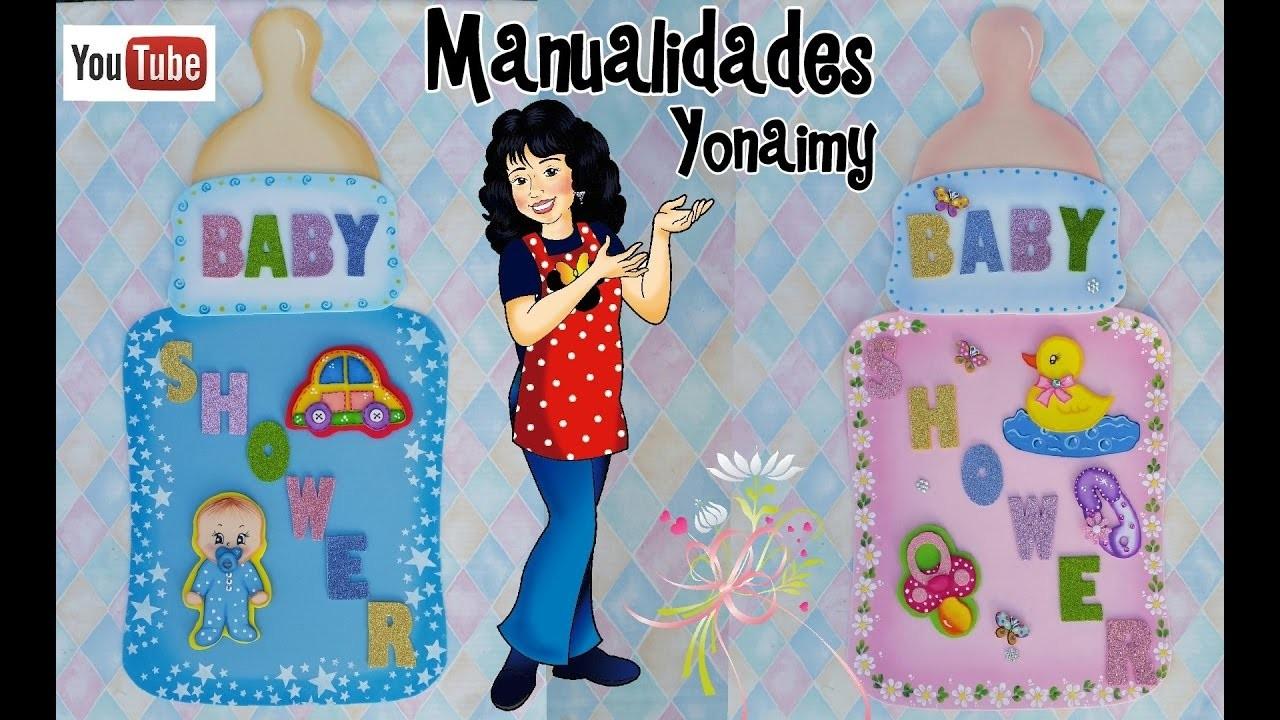Adornos de baby shower para paredes o puertas diy - Adornos baby shower nino ...