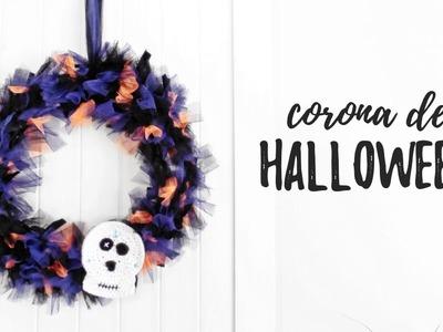 Corona de HALLOWEEN DIY | Ahuyama Crochet