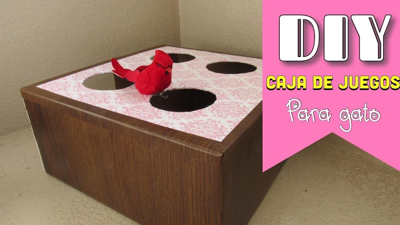 DIY Caja de Juegos para Gatos