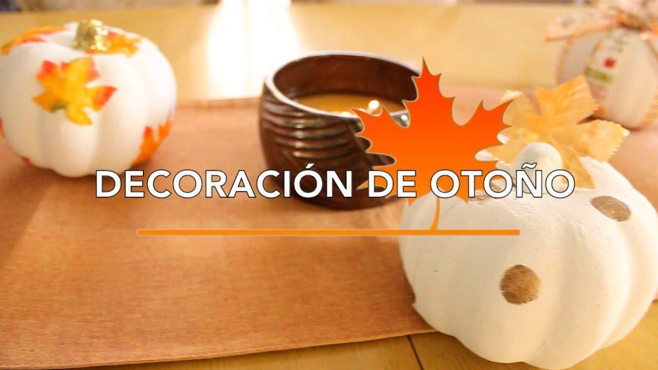 DIY Decoración De Otoño | Ideas Para Calabazas | Parte 1