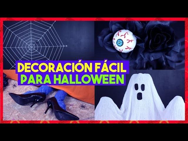 DIY PARA HALLOWEEN | DECORACIONES FÁCILES | AKARI BEAUTY