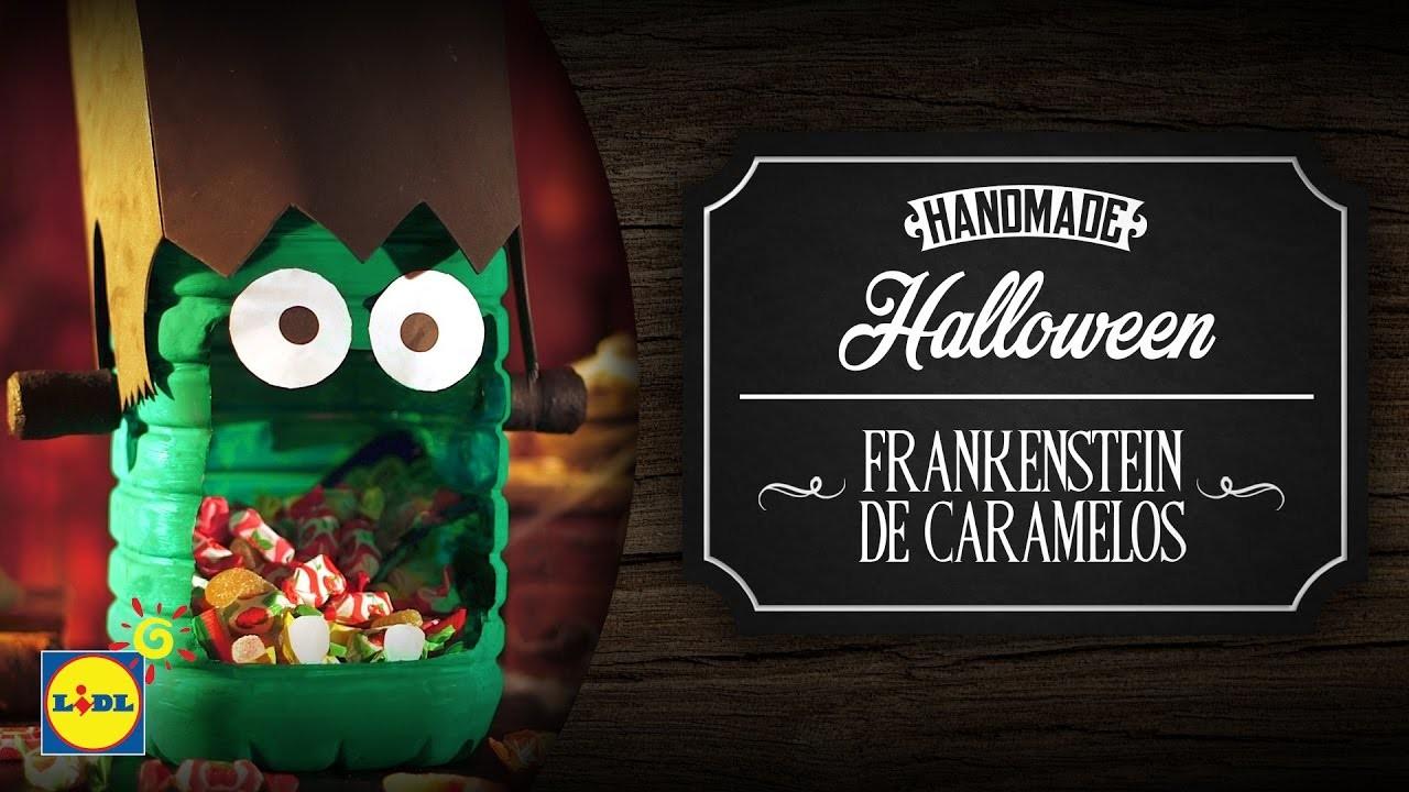 Frankenstein De Caramelos - Halloween DIY
