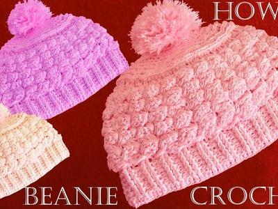 Gorro Boína Básico a Crochet - Learn Crochet Knitting