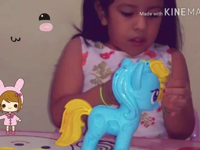 JUEGO Play-Doh My Little Pony Rainbow Dash Style Salon