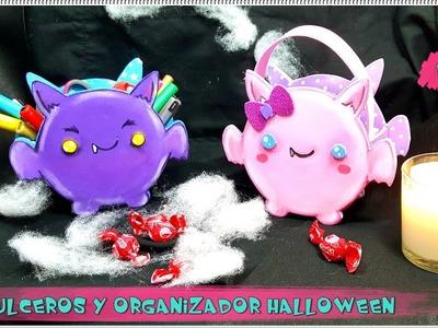 Manualidades para halloween: ORGANIZADOR.DULCERO MURCIÉLAGO - El Rinconcito Creativo de Nesi