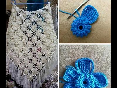 Tutorial de Chal soñado a Crochet