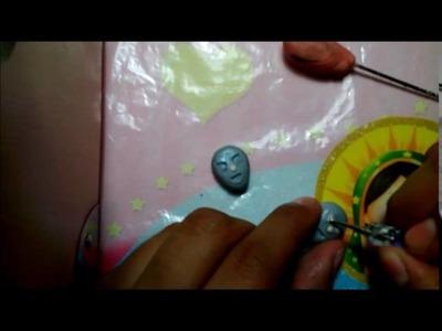 #12 Aretes del SANTO (luchador) Arcilla polimérica. Polymer clay.  ❤