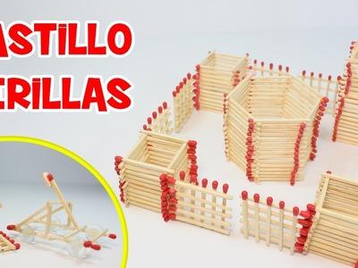 Cómo Hacer un Castillo de Cerillas | Manualidades Fáciles
