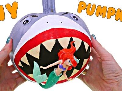 Como Hacer una Calabaza Tiburon Para Halloween