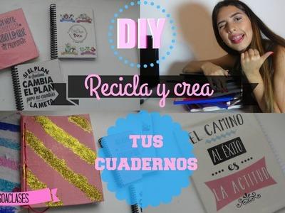 DIY REGRESO A CLASES | HAZ TUS PROPIOS CUADERNOS | UNACHICADICE