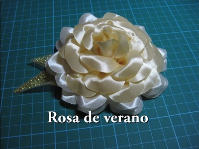 #DIY -#Rosa de Verano #DIY - # Rose of Summer