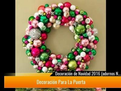 ¡Adornos de Navidad con manualidades y otra decoración! ¡Increíbles!