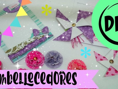 Mis Embellecedores favoritos Para Scrap    Embellishment DIY