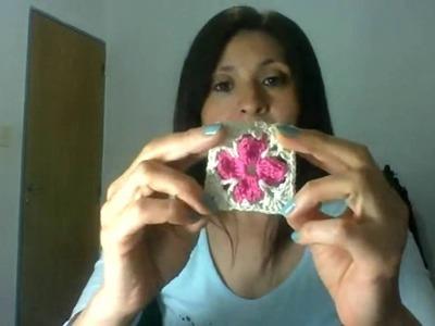 Moda a Crochet en VIVO!!! Motivo cuadrado granny square